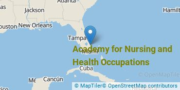 Location of Academy for Nursing and Health Occupations