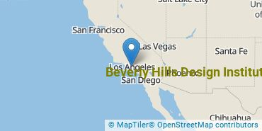 Location of Beverly Hills Design Institute