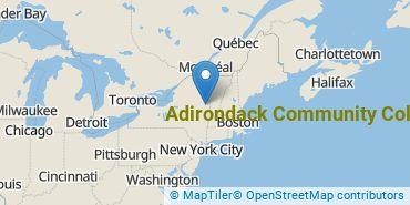 Location of Adirondack Community College