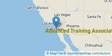 Location of Advanced Training Associates