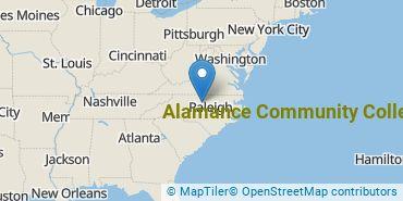 Location of Alamance Community College