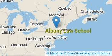 Location of Albany Law School