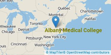 Location of Albany Medical College