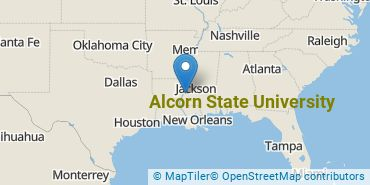 Location of Alcorn State University