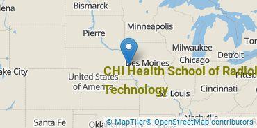 Location of CHI Health School of Radiologic Technology