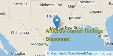Location of Altierus Career College - Bissonnet