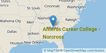 Location of Altierus Career College - Norcross