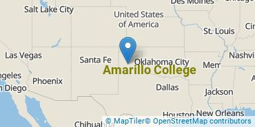 Location of Amarillo College