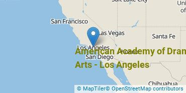 Location of American Academy of Dramatic Arts - Los Angeles