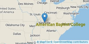 Location of American Baptist College