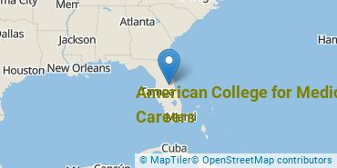 Location of American College for Medical Careers