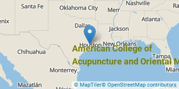 Location of American College of Acupuncture and Oriental Med