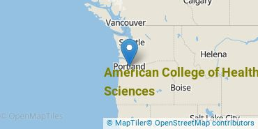 Location of American College of Healthcare Sciences