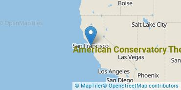 Location of American Conservatory Theater