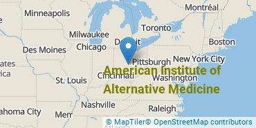Location of American Institute of Alternative Medicine