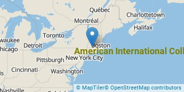 Location of American International College