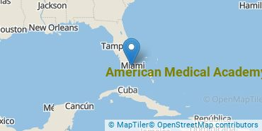 Location of American Medical Academy