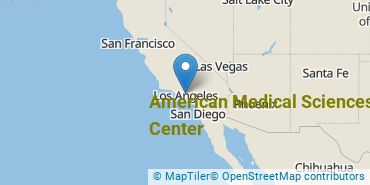 Location of American Medical Sciences Center