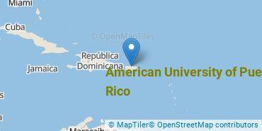 Location of American University of Puerto Rico