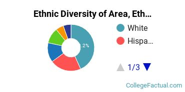 Ethnic Diversity of Area, Ethnic, Culture, & Gender Studies Majors at American University