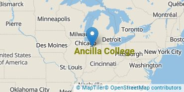 Location of Ancilla College