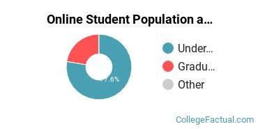 Online Student Population at Anderson University South Carolina