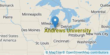 Location of Andrews University
