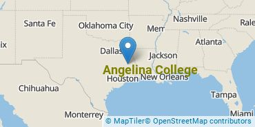 Location of Angelina College