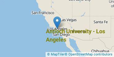 Location of Antioch University - Los Angeles