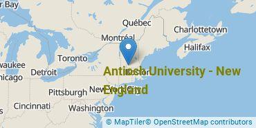 Location of Antioch University - New England
