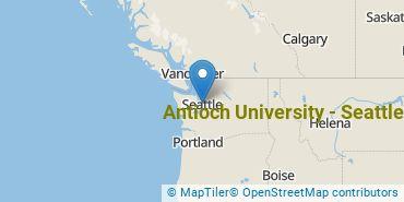 Location of Antioch University - Seattle