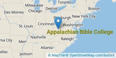 Location of Appalachian Bible College