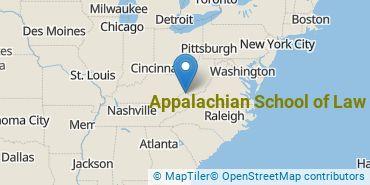 Location of Appalachian School of Law