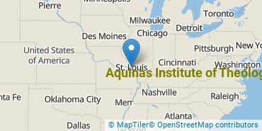 Location of Aquinas Institute of Theology