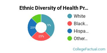 Ethnic Diversity of Health Professions Majors at Arizona College-Glendale