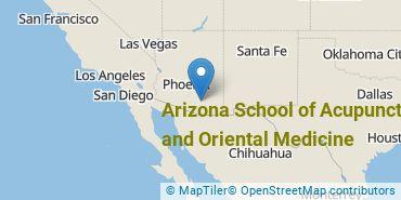 Location of Arizona School of Acupuncture and Oriental Medicine