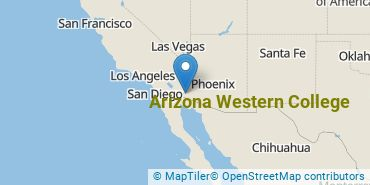 Location of Arizona Western College