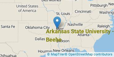 Location of Arkansas State University-Beebe