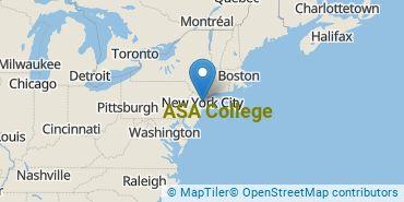 Location of ASA College