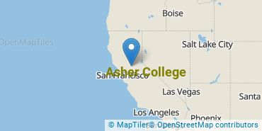 Location of Asher College