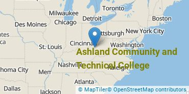 Location of Ashland Community and Technical College