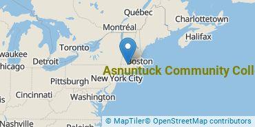 Location of Asnuntuck Community College