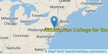 Location of Assumption College for Sisters