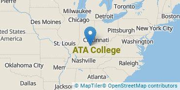 Location of ATA College
