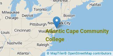 Location of Atlantic Cape Community College