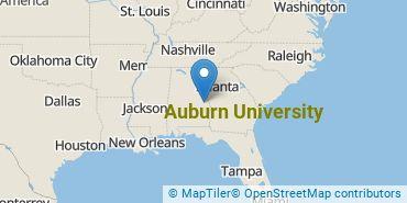 Location of Auburn University