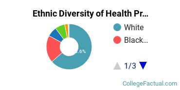 Ethnic Diversity of Health Professions Majors at Augusta Technical College