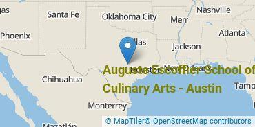 Location of Auguste Escoffier School of Culinary Arts-Austin