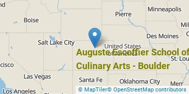 Location of Auguste Escoffier School of Culinary Arts-Boulder