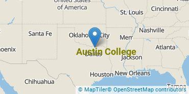 Location of Austin College
